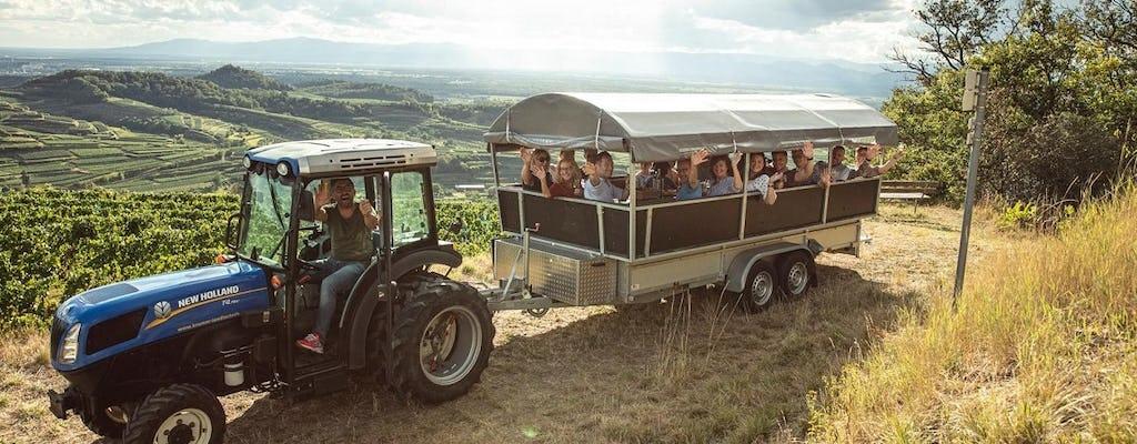 Privétractortour door de wijngaarden van Kaiserstuhl