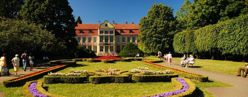 Danzig und Sopot markieren die Radtour mit der Kathedrale von Oliwa