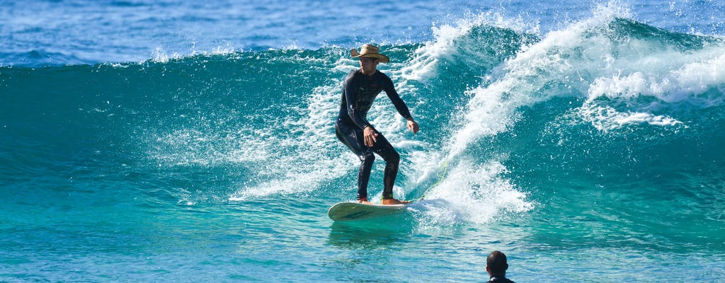 Los Cabos surf lesson at Cerritos Beach with lunch