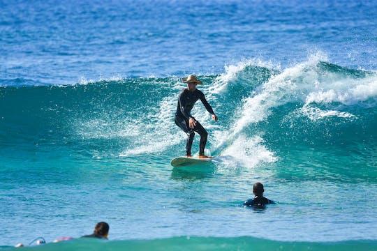 Урок серфинга Лос-Кабос на пляж cerritos с обедом