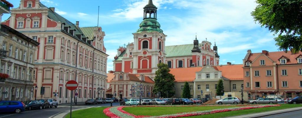 Passeio privado a pé pelo distrito de Poznan Srodka e pela Ilha da Catedral