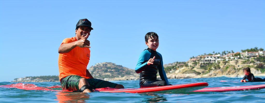 Los Cabos 3-hour surf lesson at Costa Azul
