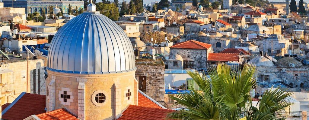 Tour por la ciudad vieja de Jerusalén con traslado