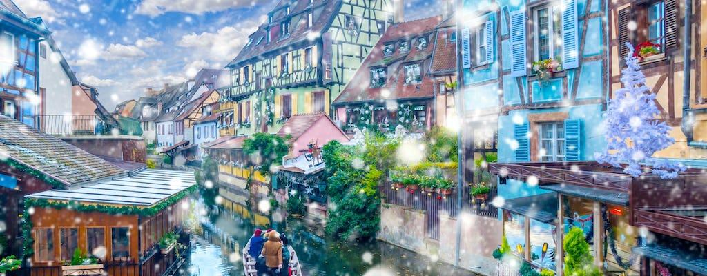 Gita giornaliera privata ai mercatini di Natale dei villaggi dell'Alsazia da Strasburgo