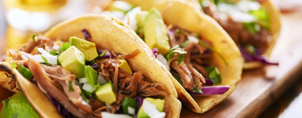 Taco-Erfahrung mit Verkostung von Speisen und Getränken