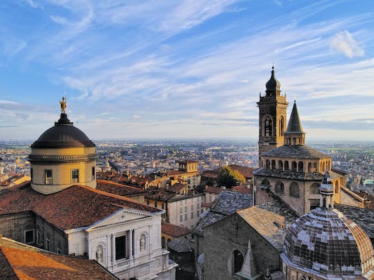 Bergamo walking tour and funicular ride with a local