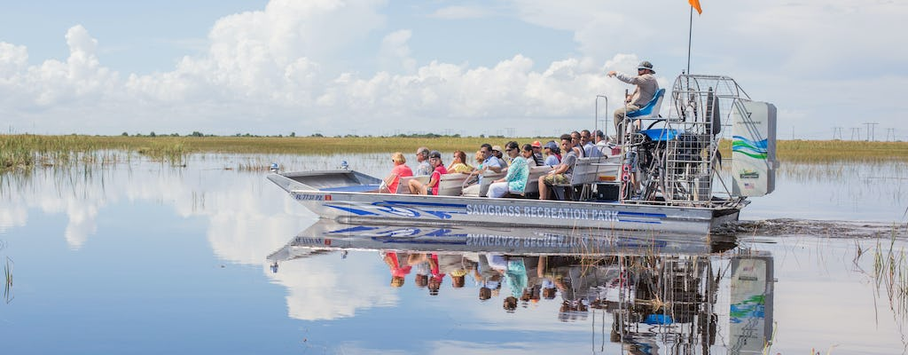 30-minute daytime airboat tour at Sawgrass Recreation Park