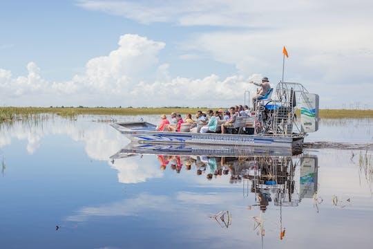 Moerasboottocht overdag van 30 minuten