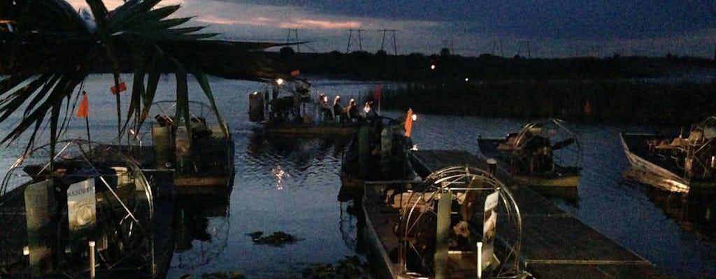 Gator Night: tour notturno di 60 minuti in airboat