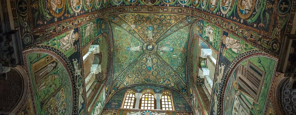 Дегустационный тур мозаики Равенны с пьядина
