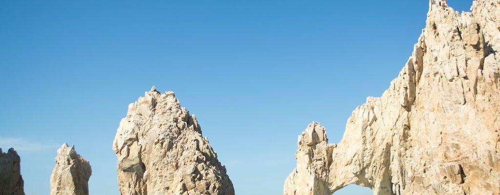 El Arco en Playa del Amor kajakken en snorkelen privétour met kleine groepen