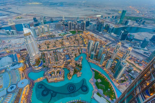 Dubai traditionelle Stadtrundfahrt mit Abholung von Ras Al Khaimah