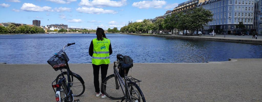 Visite à vélo durable de Copenhague du futur