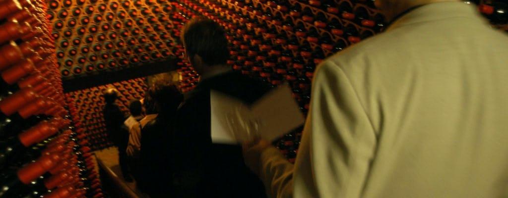 Visita guiada e degustação de vinhos na Fattoria Paradiso