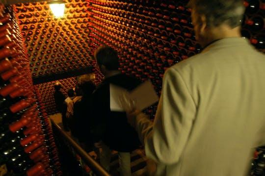Visite guidée et dégustation de vins à la Fattoria Paradiso
