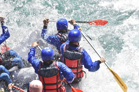 Rafting tour on the river Saalach