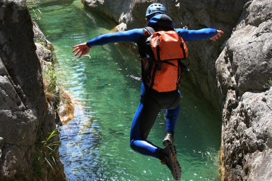 Canyoning experience in Salzkammergut
