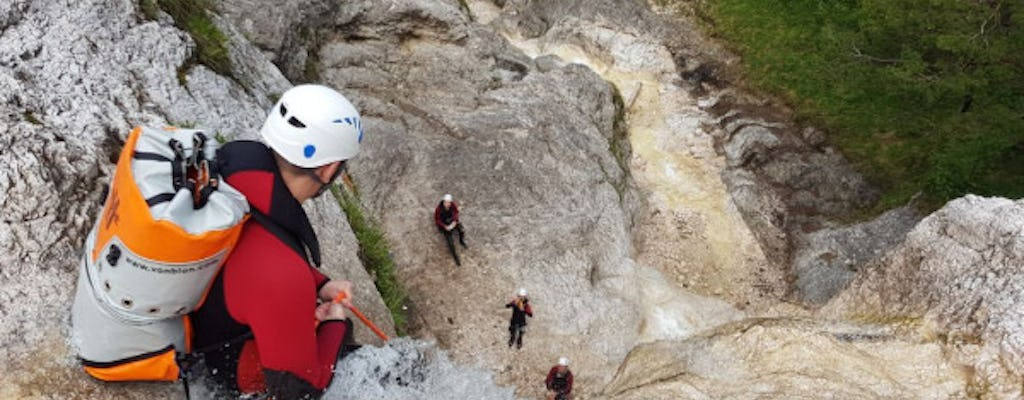 Canyoning introductory tour in Berchtesgaden region