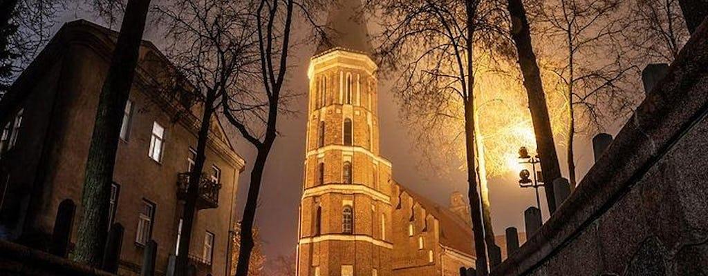 Tour dei fantasmi di 2 ore nella città vecchia di Kaunas