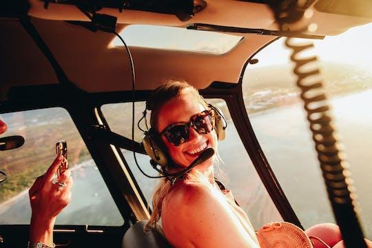 Helikopter Avondvlucht met Champagne