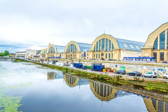 Riga's Central Market tour with tasting