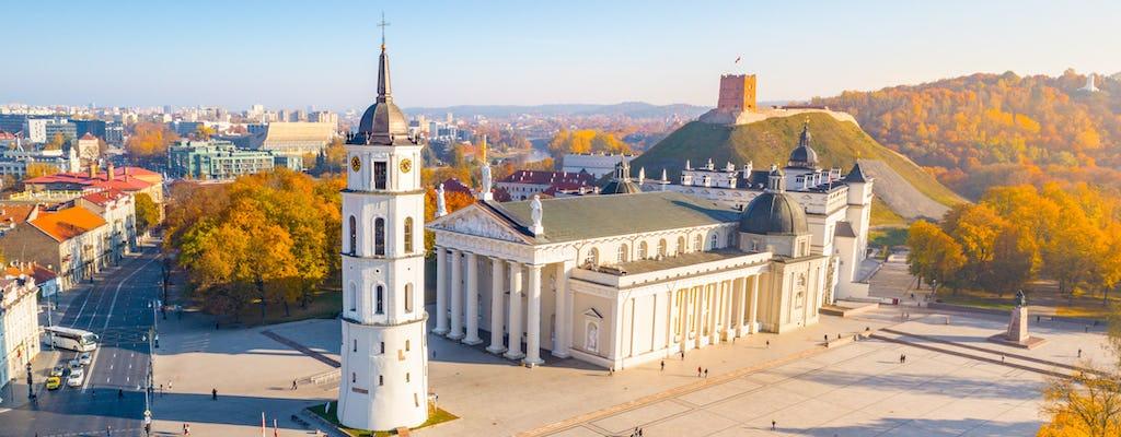Recorrido a pie majestuoso y real por Vilnius