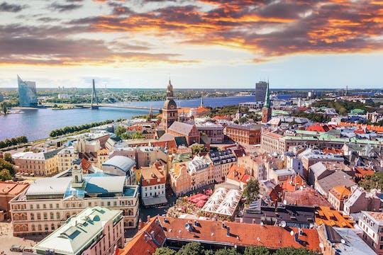 Riga gioco di caccia al tesoro