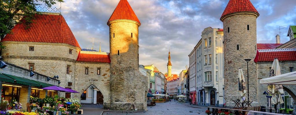 Охота за сокровищами через Таллинн