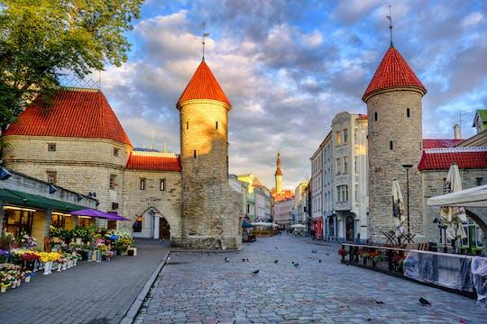 Treasure hunting game through Tallinn
