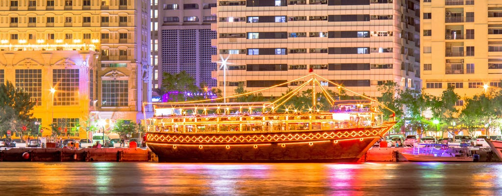 Classic dhow cruise dinner with optional transfer from Ras Al Khaimah