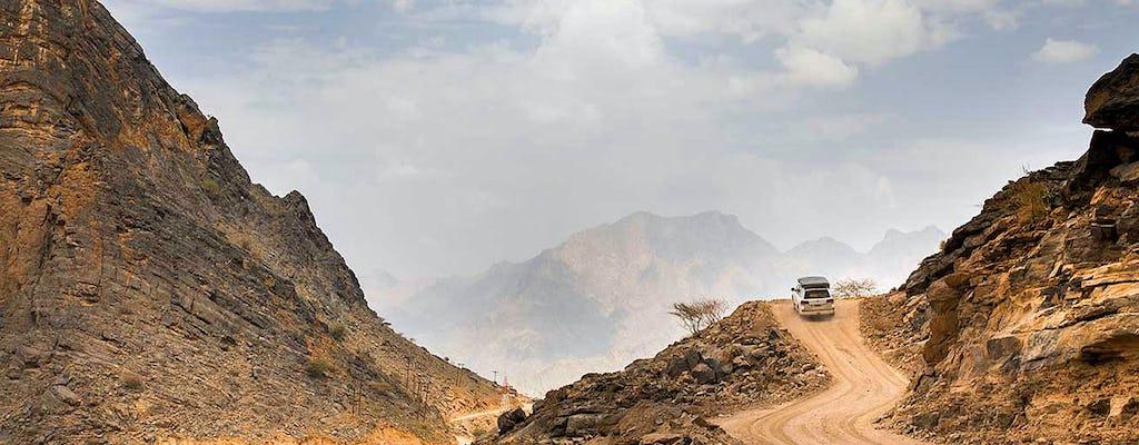 Manejo todoterreno de Wadi Shab, trekking suave y experiencia de natación