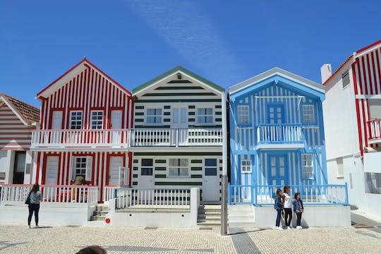 Aveiro and Costa Nova half-day private tour