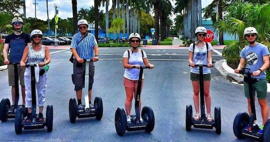 Ocean Drive self-balancing scooter tour