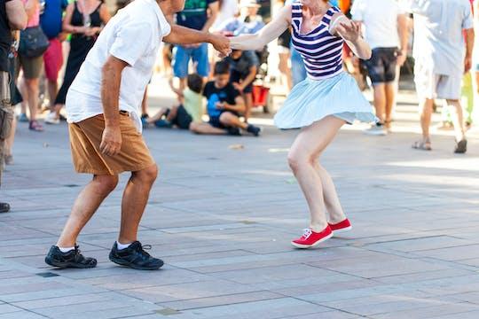 Passeggiata swing di Harlem e lezione di ballo