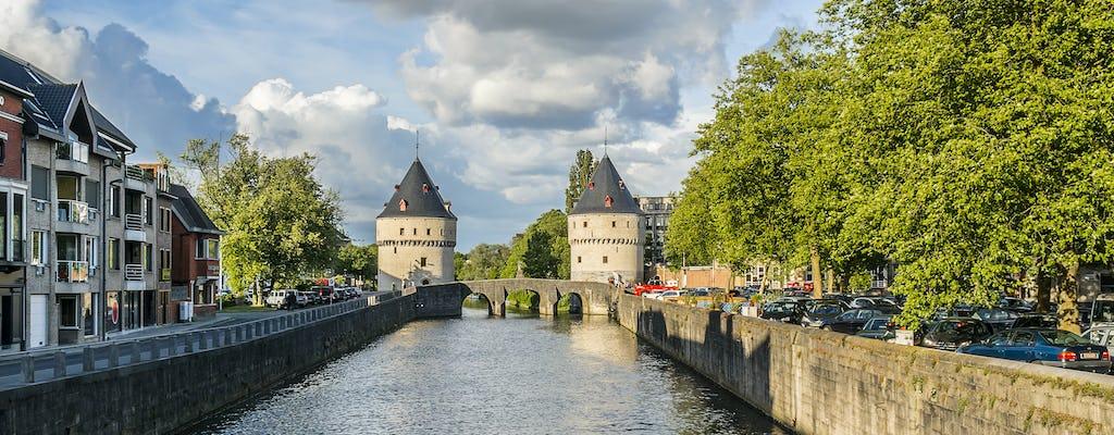 Wandeltocht in Kortrijk met een zelfgeleide stadspad