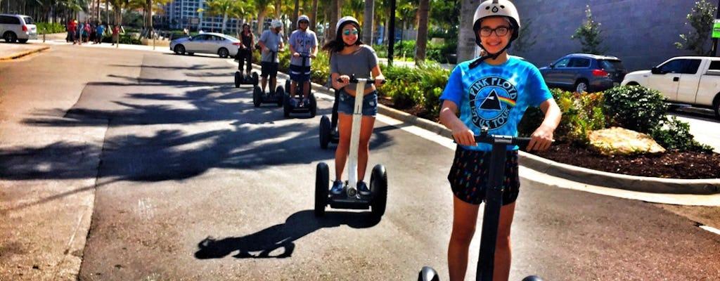Passeio de scooter com equilíbrio automático nas Ilhas Venetian