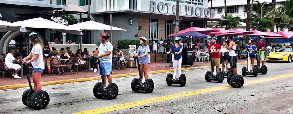 Miami Beach Art Deco self-balancing scooter tour