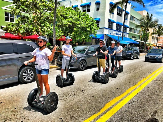 Millionaire's Row Miami self-balancing scooter tour