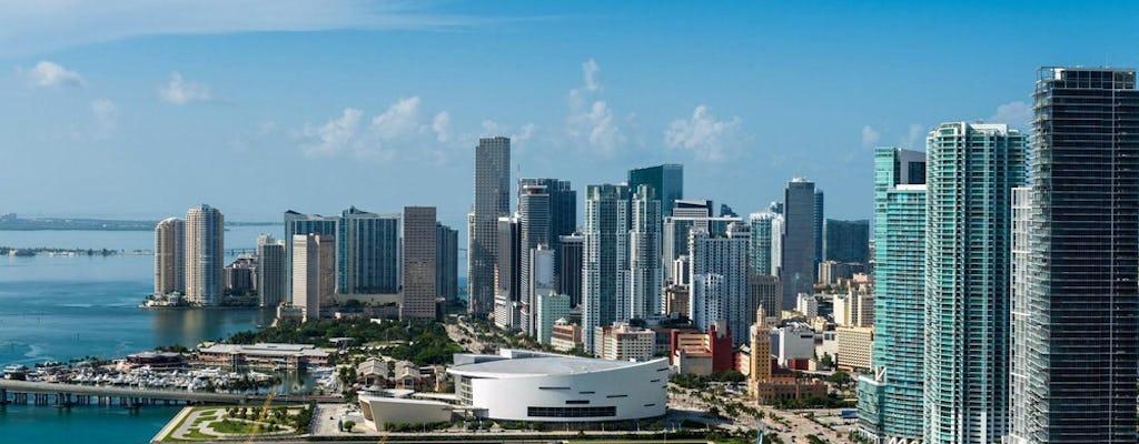 Miami Bus- und Bootstour-Kombination mit kostenlosem Fahrradverleih in South Beach