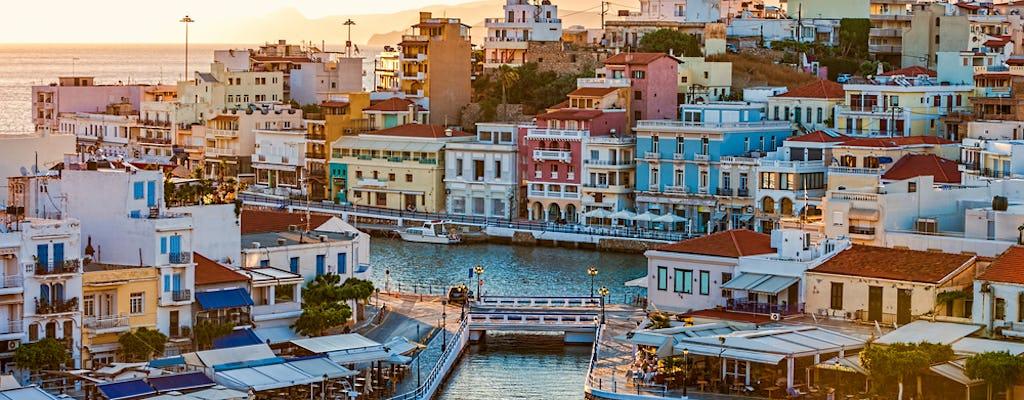 Tour privado de Agios Nikolaos, Spinalonga e Creta oriental de Heraklion