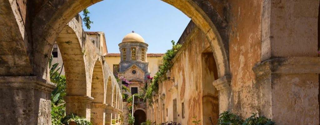 Visite guidée privée du chemin chrétien en Crète