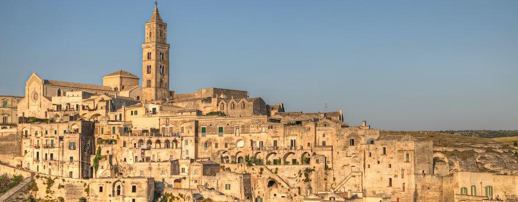 Gran recorrido por los Sassi di Matera