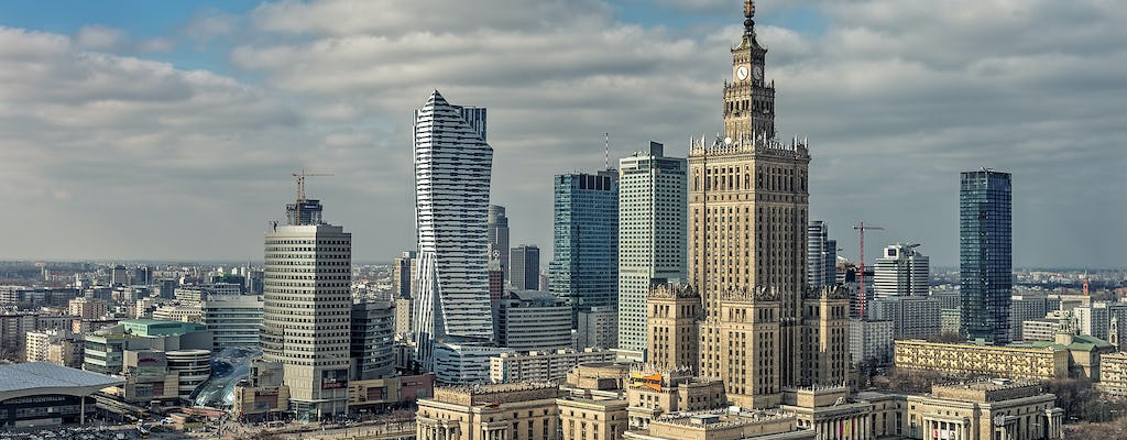 Warsaw guided tour by luxurious car
