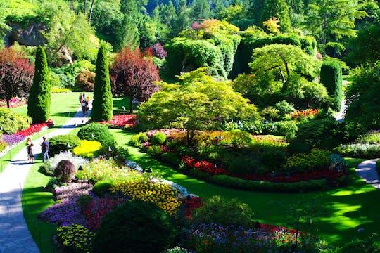 Victoria Butchart Gardens & Sightseeing-Tour