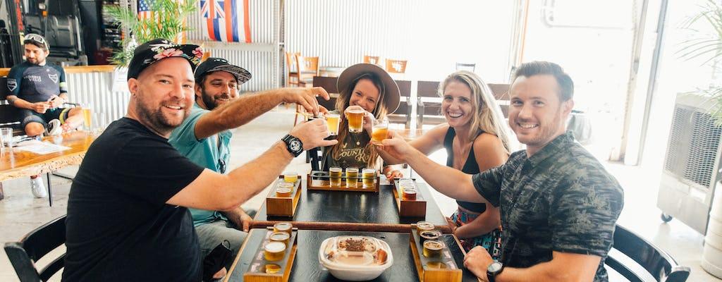 Jantar em Maui e experiência em um tour pela cervejaria