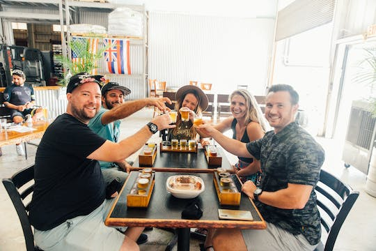 Maui dinner and brewery tour experience