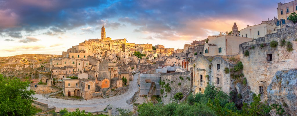Guided tour of the Sassi di Matera