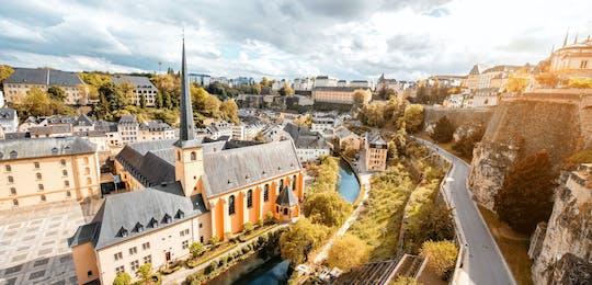 Juego de escape autoguiado en el centro de la ciudad de Luxemburgo