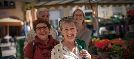 Farmers market Freiburg: private tour with tasting