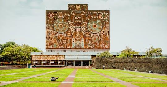 Visita guiada aos murais de Coyoacán, Xochimilco e UNAM com visita opcional ao Museu Frida Kahlo